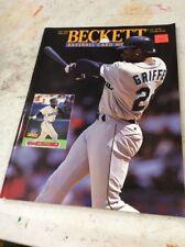 Beckett Baseball Magazine Monthly Price Guide June 1994 Ken Griffey Jr