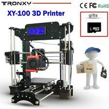 Tronxy Upgraded DIY 3D Printer High Precision Reprap Prusa i3+Filament 8GB SD Ca