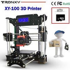 Tronxy Upgraded DIY 3D Printer High Precision Reprap Prusa i3+Filament 8GB SD Ca