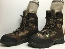 VTG MENS CABELAS THINSULATE WATERP. HUNTING BROWN BOOT SIZE 10 M