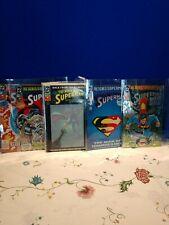Lot Of 5 Dc Superman Comics