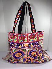 Artisan Ethnic Hippie Boho handcraft  Bag Purse Tote Made in Thailand