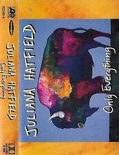 Juliana Hatfield Only Everything CASSETTE ALBUM USA Alternative Rock Indie Rock