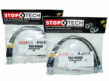 Stoptech Stainless Steel Braided Brake Lines (Front & Rear Set / 44000+44500)