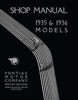1935 - 1936 Pontiac Repair Shop Manual