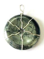 Hematite Gemstone Pendant Crystal Fashion Jewelry Gift Handcrafted Accessory