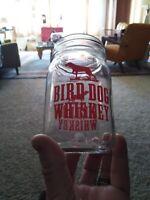 Birddog Whiskey 12 Oz Mason Jar Style Drinking Glass