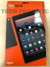 """NEW Amazon Fire HD 10 Tablet 10.1"""" Display 32GB (7th Gen) 2017 - BLACK"""