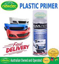 PLASTIC PRIMER AEROSOL 400ml CAR TOUCH UP AUTO REPAIR CUSTOM BUMPER PAINT FIX