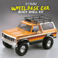 RC Car Body Hard Shell Kit For 1/10 TRAXXAS TRX4 Ford Bronco Axial SCX10 90046