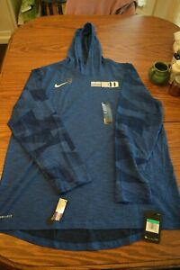 Mens Duke Blue Devils Nike Dri Fit long sleeve hoodie. $50 retail