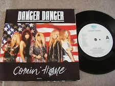"DANGER DANGER - COMIN' HOME (POSTER BAG) 7"" SINGLE 1992"