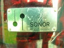"SONOR Vintage Tear Drop Drum Shell 13"" x 8 1/2 """