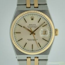 Rolex Datejust Oysterquartz Ref 17013, Men's, Stainless Steel and 18K Gold, 1986