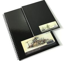 A3 A4 SKETCHING DRAWING BOOKS PADS SPIRAL BOUND HARDBACK WHITE PAPER