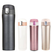 500ML Travel Thermos Vacuum Stainless Steel Insulated Flask Mug Coffee Cup