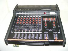 Custom Sound Model 701   150 Watt 8 channel Mixer Amplifier   Mixing PA Amp