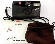 Clean Leica Mini Zoom 35-70mm Film Camera w/ Vario Elmar Lens, Instructions NICE