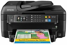 Epson WF-2760 All-in-One Wireless Color Printer with Scanner Copier Fax Wi-Fi