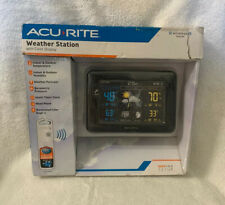 AcuRite 02027A1 Color Weather Station with Temperature and Black Display