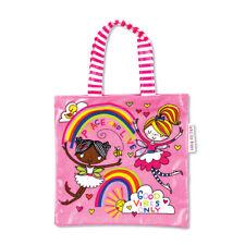 Peace & Love Princess Mini Tote Bag by Rachel Ellen Birthday Gift for Girls