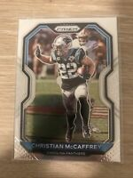 Mint 2020 Panini Prizm Base #237 Christian McCaffrey Carolina Panthers