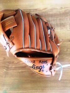 "Rawlings Baseball Glove Youth Ken Griffey Jr Left Hand Thrower RGB158 - 9""-clean"