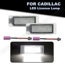 Full Led Led License Plate Lights Lamp For Cadillac Cts Xts Chevy Corvette Buick
