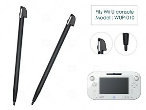 2 x Black Replacement Stylus Pen Parts for Nintendo Wii U Console WUP-015