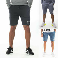 11 DEGREES Mens Designer Core Jogger Casual Soft Fleece Tracksuit Sweat Shorts