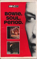 david bowie bowie soul period cd & vhs