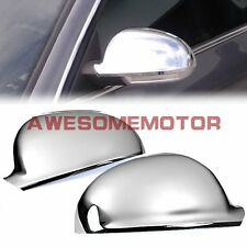 Triple Chrome Rear View Side Mirror Cover For VW Jetta MK5 Passat B6 06-10 AM