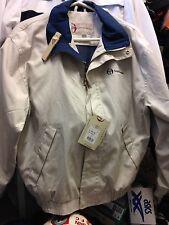 sergio tacchini jacket harrigton jacket in navy or beige at £28 cottonbnwl