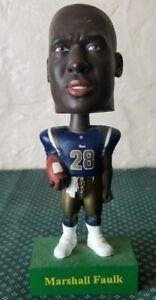 2001 St. Louis Rams Marshall Faulk Bobblehead Upper Deck