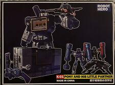masterpiece transformers Soundwave by Robot Hero