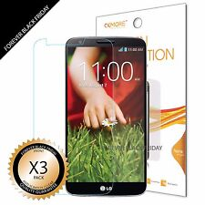 LG G2 Screen Protector 3x Anti-Scratch HD Clear Front Protector