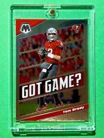 Tom Brady PANINI MOSAIC GOT GAME? SPECIAL INSERT TAMPA BAY BUCS HOT CARD - Mint!
