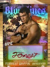 Forrest Griffen Ufc Topps 2010 Bloodlines Autograph 22/25