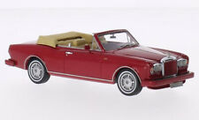 NEO 44150 - 1/43 BENTLEY CONTINENTAL CONVERTIBLE RED 1984 - 1996