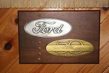 Mint original Ford Dealer 50 year award, Cashton Motors From Cashton Wisconsin
