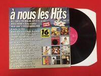 À NOUS LES HITS VOL 12 CARRERE 16 TITRE 30076 1990 VG VINYLE 33T LP