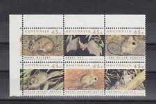 TIMBRE STAMP 6 AUSTRALIE Y&T#1236-41 RAT CHAUVE SOURIS NEUF**/MNH-MINT 1992 ~B57