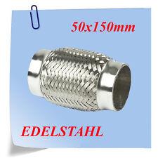Flexstück Flexrohr 50x150 Auspuffanlage Abgasrohr Hosenrohr FLEXIBLES ROHR