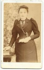 Cdv not Cabinet or postcard Lincolnshire Lincoln Wj Smith 44 Canwick Young Lady
