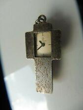 schöne, alte Uhr , Kettenanhänger ,  Kreuz ,  835 Silber , Candino  !