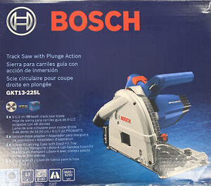 Bosch GKT13-225L 6-1/2 In. Track Saw with Plunge Action New