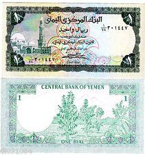 Yemen Arab REPUBLIQUE Billet 1 RIAL ND P16 UNC NEUF