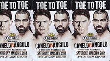 **5 ROOM KEYS CARD**MGM GRAND HOTEL & CASINO LAS VEGAS CANELO vs ANGULO BOXING