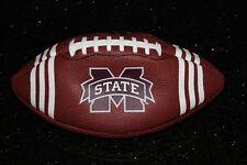 NEW ADIDAS PERFORMANCE OFFICIAL NFL MISSISSIPPI  STATE   AMERICAN FOOTBALL BALL