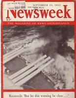 1941 Newsweek September 22-Hitler lags Napoleon Russia
